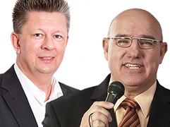 Oliver Papageorgiou und Uwe Glomb, Referenten des SUSY Erfolgscoaching